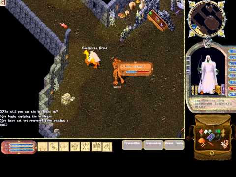 Ultima Online - 243 - Doom - Bone Daemon Summon and Defeat