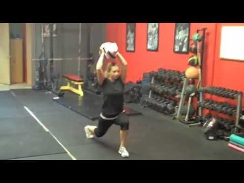 women's fitness workouts  sandbag training  ultimate