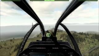 """ArmA 2 (armed assault 2) обучение вертолет """"кобра""""  v2"""
