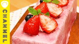 ①記念日やパーティーに♪牛乳パックで♪ ベリーアイスケーキ プロが作った...