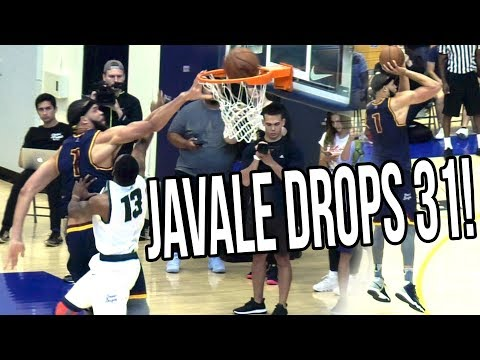 Javale Mcgee HITTING THREES NOW?! Drops 31 & 15 w/ Nick Young in Drew League Playoffs!