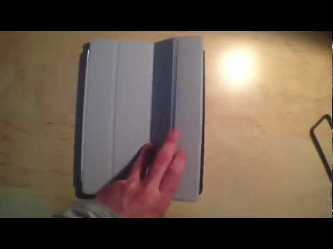 [Test] Housse Smart Cover IPad 2, 3 Et 4 - Grise !