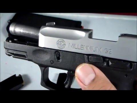 TAURUS PT111 MILLENIUM G2 WITH SIG MAGAZINE - YouTube