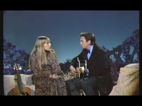 Johnny Cash Show: Johnny Cash & Joni Mitchell - The Long Black Veil