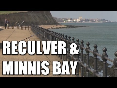 Reculver & Minnis Bay - South East Coast Shore Fishing Locations, Kent, England