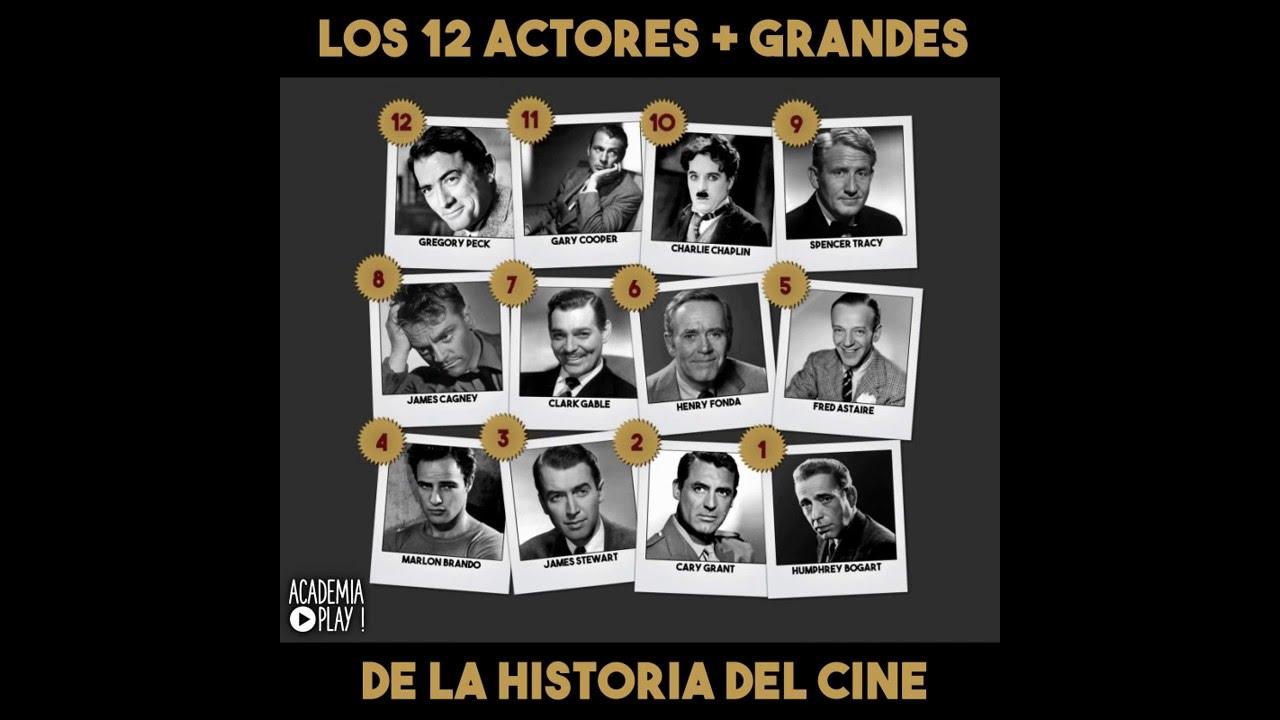 Los 12 actores de Hollywood más grandes de la historia