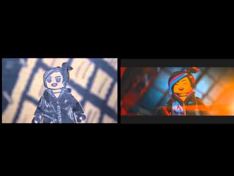 The LEGO Movie Sweded Trailer Winner and Original LEGO Movie Trailer