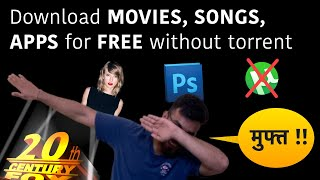Download MOVIES, SONGS, APPS for FREE | Direct links | No torrents | हिंदी