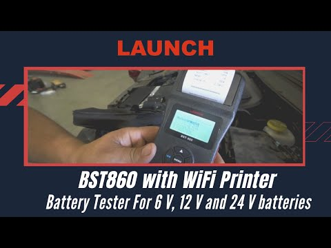 LAUNCH Battery Tester BST860 - For cars & heavy duty vehicles