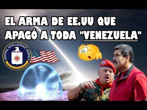 El arma de EE.UU que apagó a Venezuela 😱 | Venezuela sin luz - bomba electromagnética