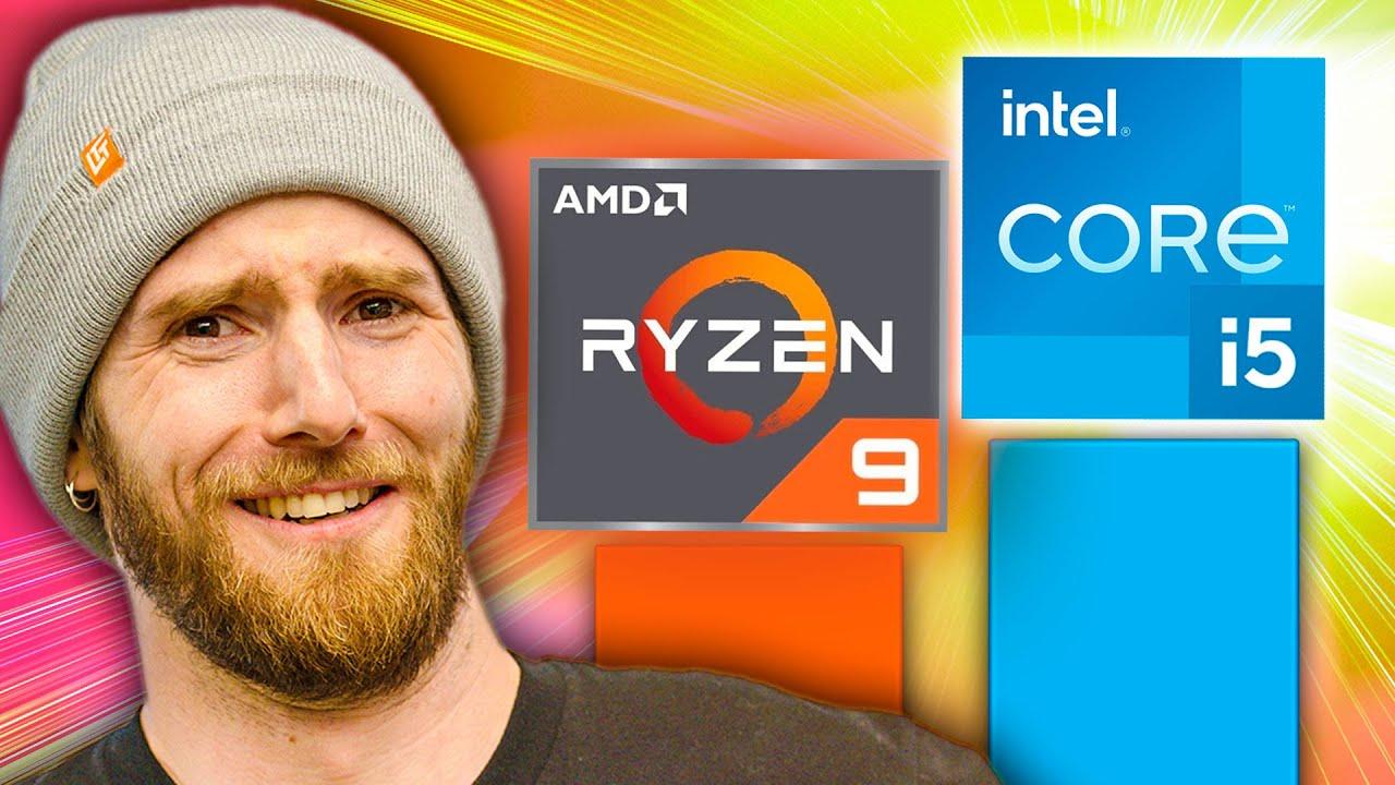 New Core i5 BEATS Ryzen 9 !?