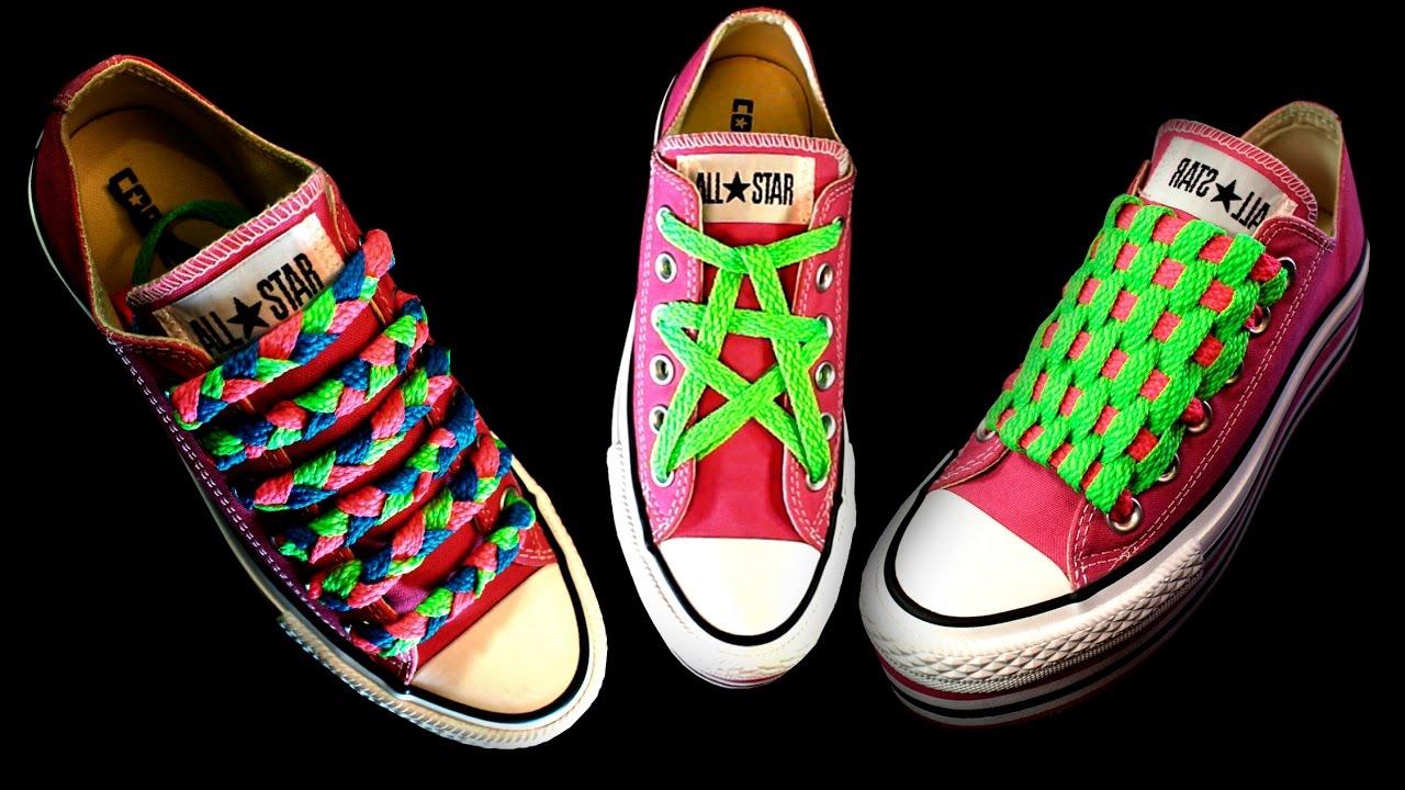 Formas de atarse los cordones Cómo atar las zapatillas de