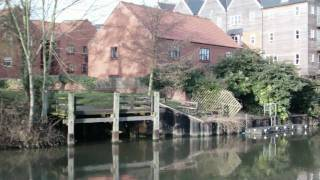 Tombland, Norwich - River - Panoramic