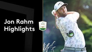 Jon Rahm's first round back after US Open win | Round 1 Highlights