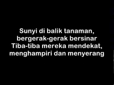 Endank Soekamti - Kunang Kunang (lyric on screen)