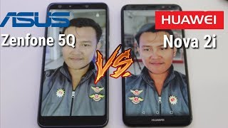 Asus Zenfone 5Q vs Huawei Nova 2i - Bokeh palsu vs Bokeh asli !!!