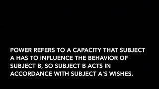 Organizational Behavior: Power