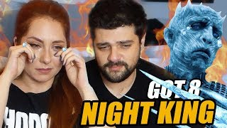 BİTTİK BİZ! Game of Thrones 8.Sezon 3.Bölüm Night King Reaction