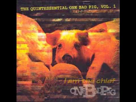 I am the chief  One Bad Pig