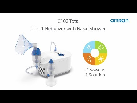 OMRON C102 Total Nebulizer