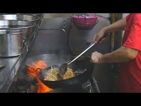 ⚡🔥⚡ ULTIMATE WOK SKILLS • The MAGIC of Multiple Woks Cooking • Tze Char Foods