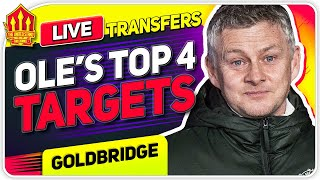 Solskjaer's TOP 4 Transfer Targets! Pogba Starts? Man Utd News