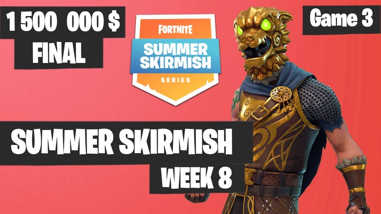 Morgaussetv S Top Plays Prize Money From Week 8 Fortnite Summer