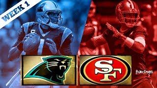 San Francisco 49ers VS Carolina Panthers NFL 2017 Week 1 Postgame Gathering