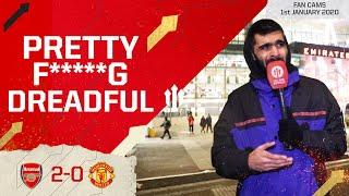 PRETTY F*****G DREADFUL! Arsenal 2-0 Manchester United | Adam Mckola Review