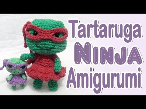 Tortugas Ninja amigurumi tutorial - YouTube | 360x480