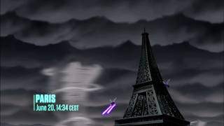 Young Justice - Season 2 Episode 20 - Endgame | Wally West and Artemis Crock in Paris | 1080p 【HD】