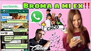 BROMA A MI EX  con canciones de Calum y CNCO || Yazzlife