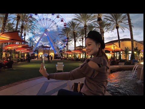Walking around Irvine Spectrum, California with New GoPro HERO7 Black [4K]