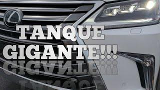 MANSÃO SOBRE RODAS 4!!! 2017 LEXUS LX570 4WD 5.7L V8 32V 383HP. PREÇO EM LEILÃO NOS ESTADOS UNIDOS.