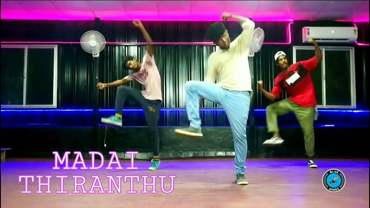 Madai Thiranthu Yogi B | Natchatra | Vallavan | Dance Choreography | Blue Wings Dance Studio