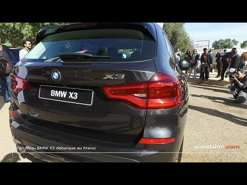 lancement du nouveau bmw x3 au maroc youtube. Black Bedroom Furniture Sets. Home Design Ideas