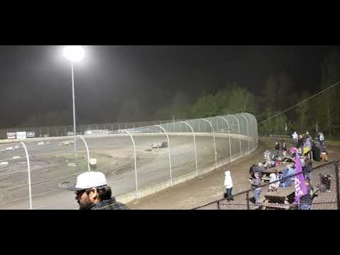 5-26-19 Super Late Model Main part 1 (Willamette speedway)