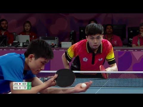 Tomokazu Harimoto vs Lin Yun-Ju | Youth Olympic Games 2018