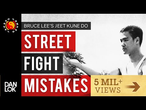 3 Common Mistakes In A Street Fight - Bruce Lee's Jeet Kune Do en streaming