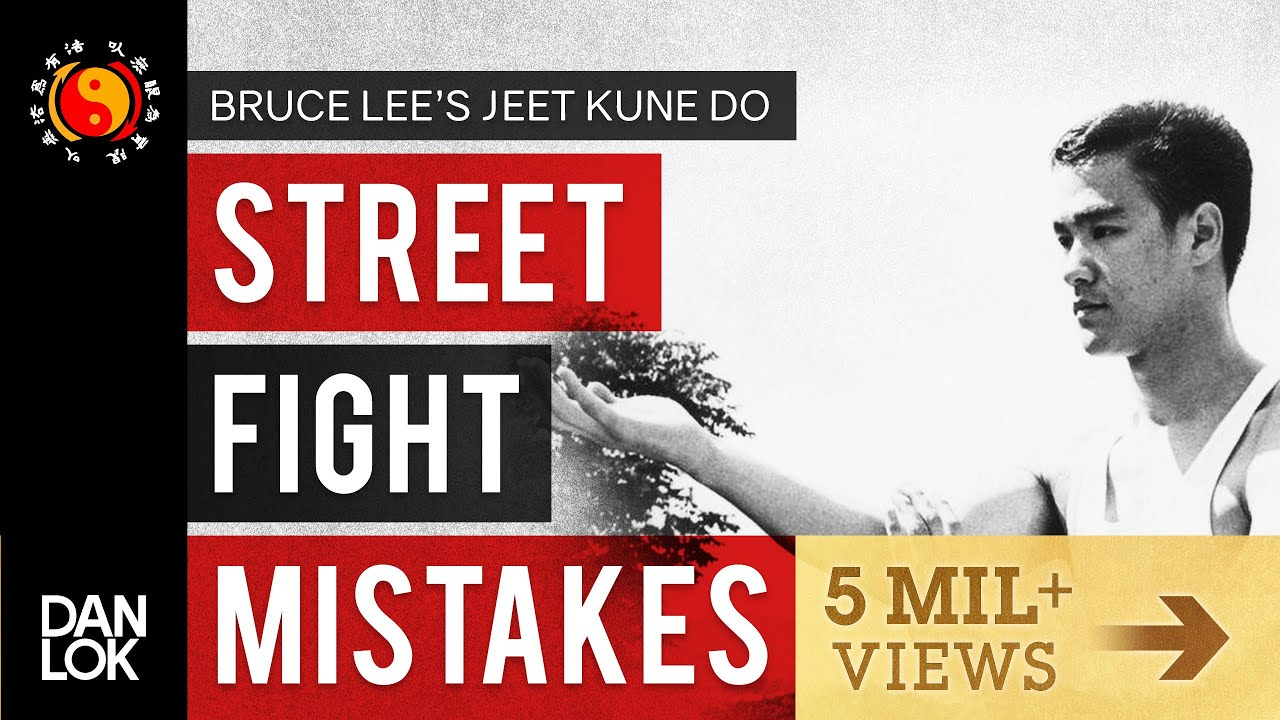 3 Common Mistakes In A Street Fight Bruce Lee S Jeet Kune Do Youtube
