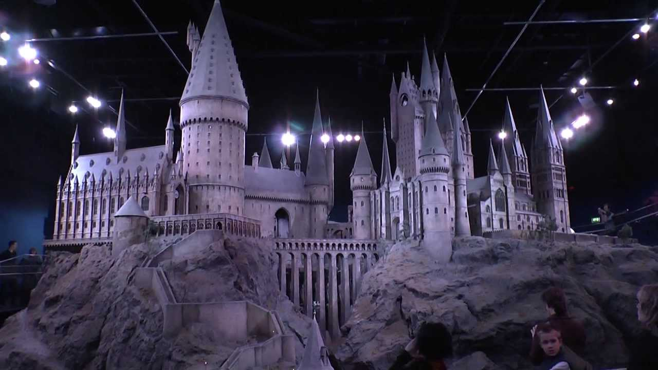 hogwarts model leavesden studios moonlight sonata