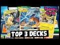 Three **BEST** Pokemon Decks in Standard - Unbroken Bonds