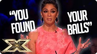 Nicole's most SHERMAZING one liners! | The X Factor UK