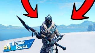 *NEW* Epic Snowfoot Skin Gameplay - Fortnite Battle Royale