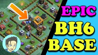 "Epic BH6 base ""NEW"" Meisterhütte 6 unbesiegbare base || Clash of clans || GAM3R STYLE"