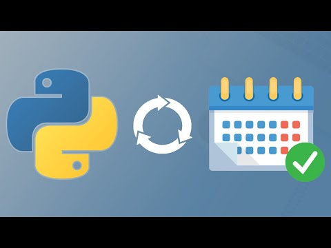 How to Schedule & Automatically Run Python Code!