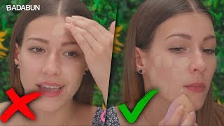 La forma correcta de aplicar la base de Maquillaje