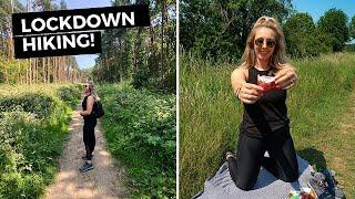LOCKDOWN VLOG: 15km Hike in UK Countryside