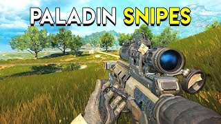 Paladin Snipes! - Cod Black Ops 4: Blackout (PC Gameplay)