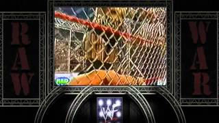 20-Raw 2000-Stone Cold Vs Rikishi Parte 2 (Cage Match) + The Rock Vs Y2J